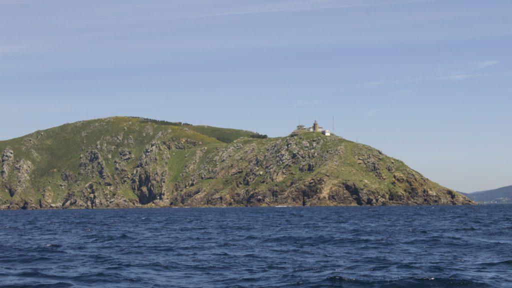 Das Kap Finisterre markiert die Grenze zwischen der Costa da Morte und den Rias baxas.