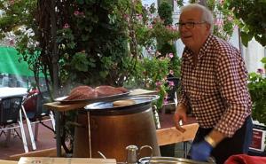 """Wo der Chef den Pulpo persönlich kocht: das Restaurant """"Don Quijote"""" in Vigo."""